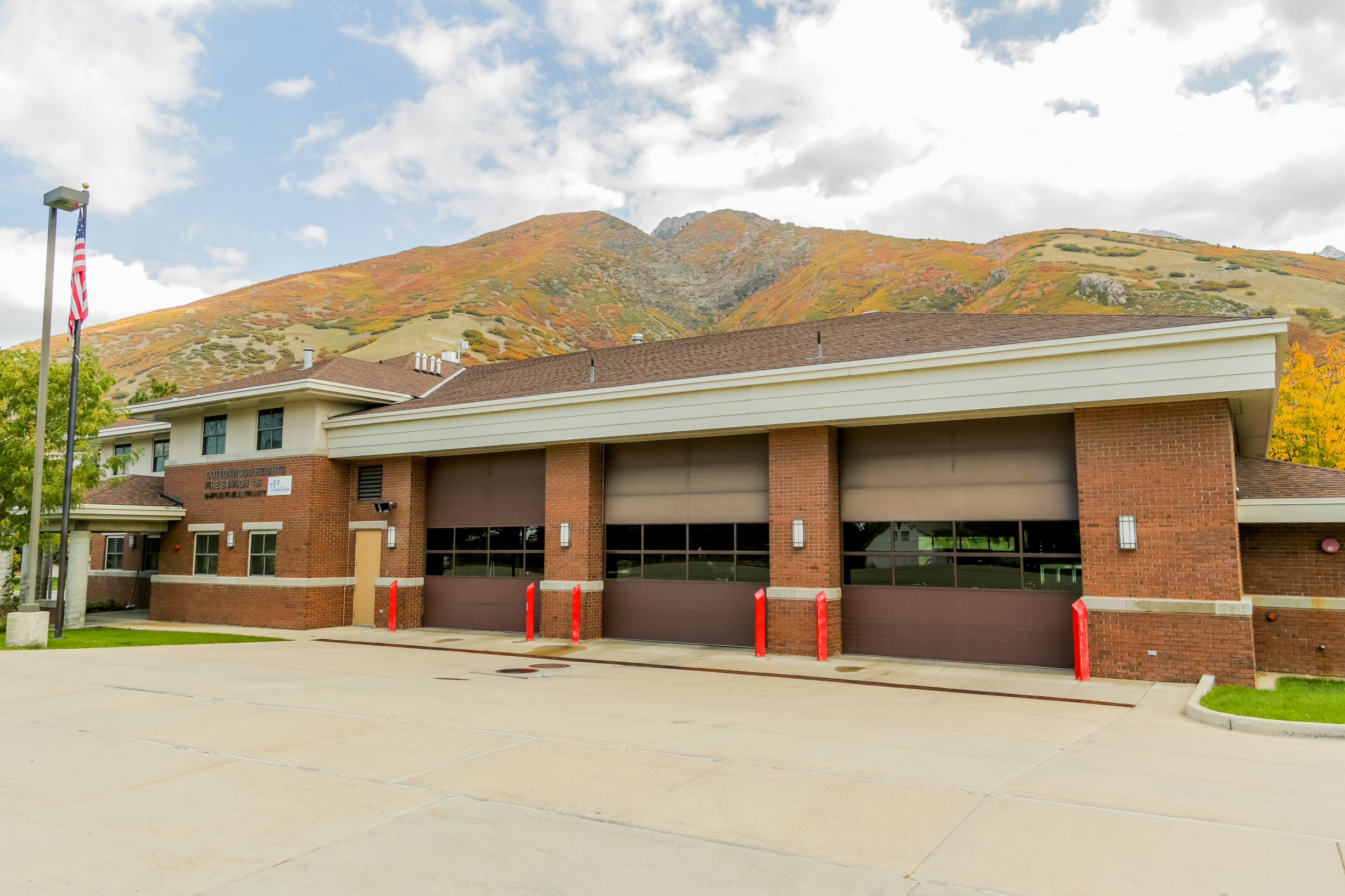 Station 116 8303 South Wasatch Blvd. Cottonwood Heights, UT 84121