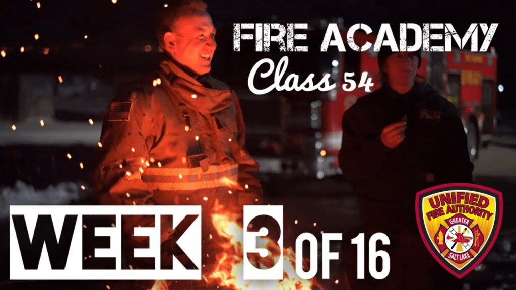 fire academy class 54 week 3 of 16